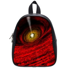 Black Red Space Hole School Bag (small)