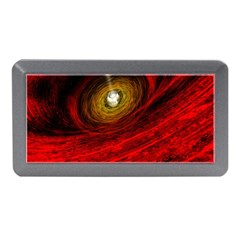 Black Red Space Hole Memory Card Reader (mini)