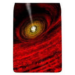 Black Red Space Hole Flap Covers (s)