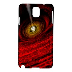 Black Red Space Hole Samsung Galaxy Note 3 N9005 Hardshell Case