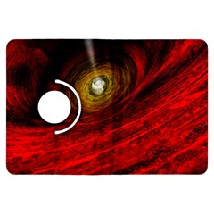 Black Red Space Hole Kindle Fire Hdx Flip 360 Case