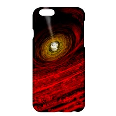 Black Red Space Hole Apple Iphone 6 Plus/6s Plus Hardshell Case