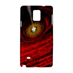 Black Red Space Hole Samsung Galaxy Note 4 Hardshell Case