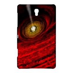 Black Red Space Hole Samsung Galaxy Tab S (8 4 ) Hardshell Case