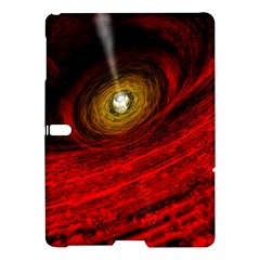 Black Red Space Hole Samsung Galaxy Tab S (10 5 ) Hardshell Case
