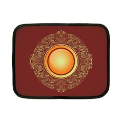 Badge Gilding Sun Red Oriental Netbook Case (small)