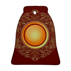 Badge Gilding Sun Red Oriental Ornament (bell)