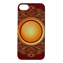 Badge Gilding Sun Red Oriental Apple Iphone 5s/ Se Hardshell Case