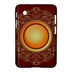 Badge Gilding Sun Red Oriental Samsung Galaxy Tab 2 (7 ) P3100 Hardshell Case