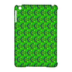 Abstract Art Circles Swirls Stars Apple Ipad Mini Hardshell Case (compatible With Smart Cover)