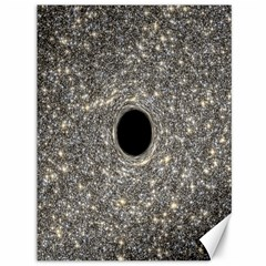 Black Hole Blue Space Galaxy Star Light Canvas 36  X 48