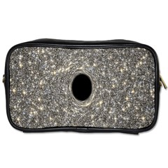 Black Hole Blue Space Galaxy Star Light Toiletries Bags 2 Side