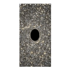 Black Hole Blue Space Galaxy Star Light Shower Curtain 36  X 72  (stall)