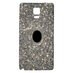 Black Hole Blue Space Galaxy Star Light Galaxy Note 4 Back Case