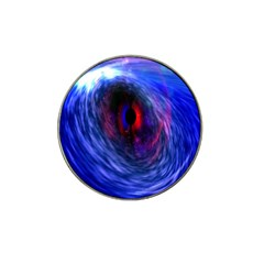 Blue Red Eye Space Hole Galaxy Hat Clip Ball Marker (10 Pack)