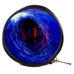Blue Red Eye Space Hole Galaxy Mini Makeup Bags