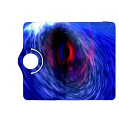 Blue Red Eye Space Hole Galaxy Kindle Fire Hdx 8 9  Flip 360 Case