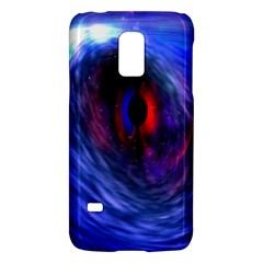 Blue Red Eye Space Hole Galaxy Galaxy S5 Mini