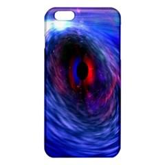 Blue Red Eye Space Hole Galaxy Iphone 6 Plus/6s Plus Tpu Case
