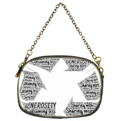 Recycling Generosity Consumption Chain Purses (one Side)