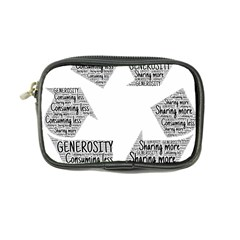 Recycling Generosity Consumption Coin Purse