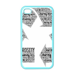 Recycling Generosity Consumption Apple Iphone 4 Case (color)