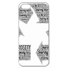 Recycling Generosity Consumption Apple Seamless Iphone 5 Case (clear)