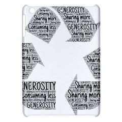 Recycling Generosity Consumption Apple Ipad Mini Hardshell Case