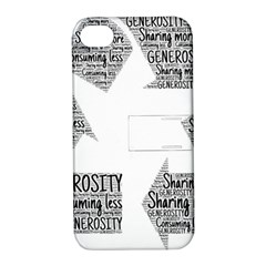Recycling Generosity Consumption Apple Iphone 4/4s Hardshell Case With Stand