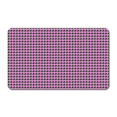 Pattern Grid Background Magnet (rectangular)