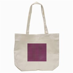 Pattern Grid Background Tote Bag (cream)