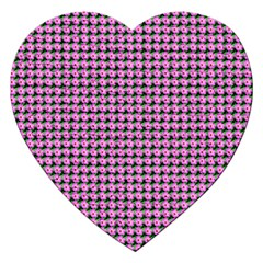 Pattern Grid Background Jigsaw Puzzle (heart)
