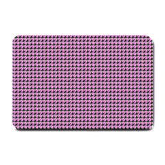 Pattern Grid Background Small Doormat