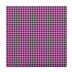Pattern Grid Background Face Towel