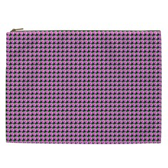 Pattern Grid Background Cosmetic Bag (xxl)