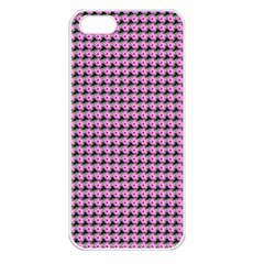 Pattern Grid Background Apple Iphone 5 Seamless Case (white)