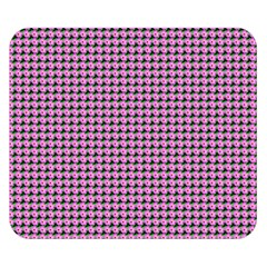 Pattern Grid Background Double Sided Flano Blanket (small)