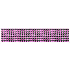 Pattern Grid Background Flano Scarf (small)