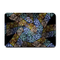 Multi Color Tile Twirl Octagon Small Doormat