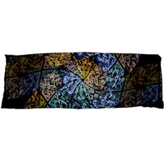 Multi Color Tile Twirl Octagon Body Pillow Case (dakimakura)