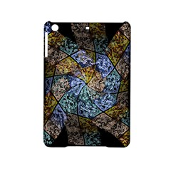 Multi Color Tile Twirl Octagon Ipad Mini 2 Hardshell Cases