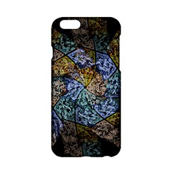 Multi Color Tile Twirl Octagon Apple Iphone 6/6s Hardshell Case