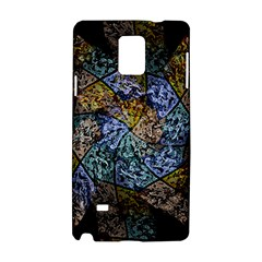 Multi Color Tile Twirl Octagon Samsung Galaxy Note 4 Hardshell Case