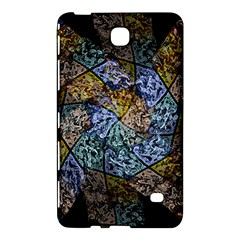 Multi Color Tile Twirl Octagon Samsung Galaxy Tab 4 (8 ) Hardshell Case