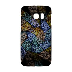 Multi Color Tile Twirl Octagon Galaxy S6 Edge