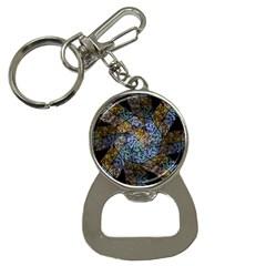 Multi Color Tile Twirl Octagon Button Necklaces