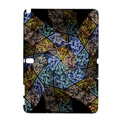 Multi Color Tile Twirl Octagon Galaxy Note 1