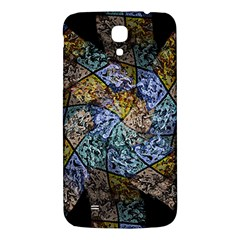 Multi Color Tile Twirl Octagon Samsung Galaxy Mega I9200 Hardshell Back Case