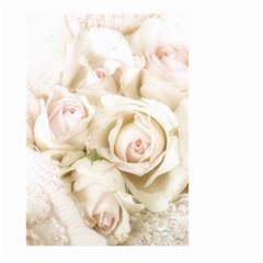 Pastel Roses Antique Vintage Large Garden Flag (two Sides)