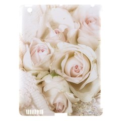Pastel Roses Antique Vintage Apple Ipad 3/4 Hardshell Case (compatible With Smart Cover)